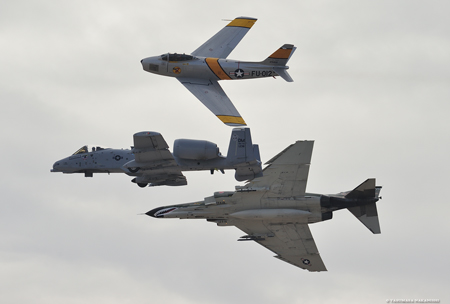 USAF Heritage Flight